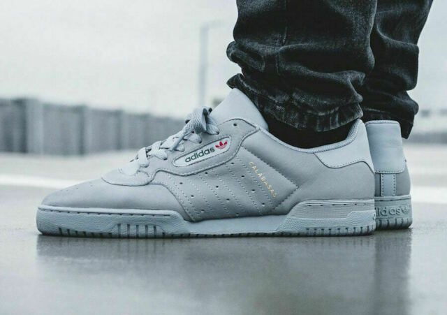 adidas Mens Yeezy Powerphase Calabasas Grey Cg6422 13