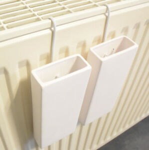2er Set Luftbefeuchter Heizung Keramik Heizkörper Wasser Verdampfer ...