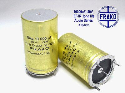 1000uF Electrolytic caps  x 50 PIECES 50V  FRAKO Ultra Audio Grade!