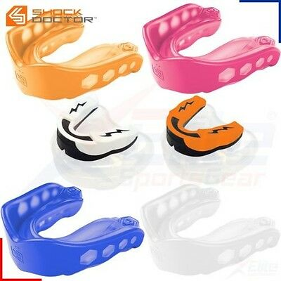 GEL MAX Mouth Guard Boxing Muay Thai MMA Sparring Shock Doctor Mouthguard