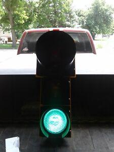 "Vintage NOS Eagle Durasig Traffic Light,  ( Unused 12"" X8"" X8"" Lens )"