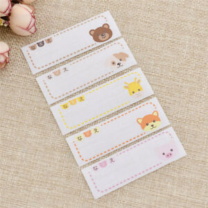 Details about Cute Animal Labels Sew On Iron On Clothes Fabric Laundry Name  Tag Sticker School
