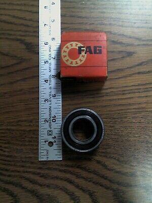 NIB FAG 6205 2RSR BEARING RUBBER SEALED 62052RSR 62052RS 6205 2RS 25x52x15 mm