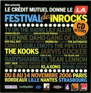 Compilation-CD-Les-Inrockuptibles-Festival-Des-Inrocks-France-EX-M