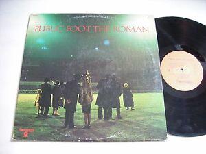 Public-Foot-The-Roman-Self-Titled-1973-LP-VG