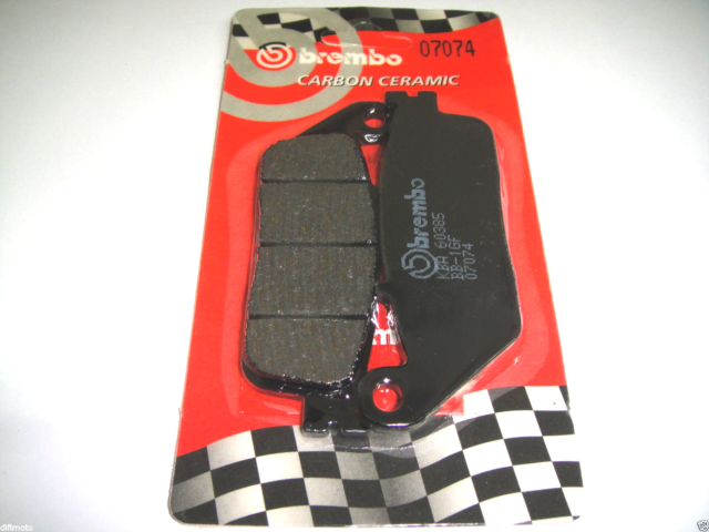 Front Brake Pads BREMBO 07074 Kymco Downtown 200 2014