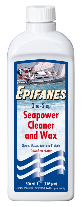 Epifanes Seapower Cleaner / & Wax 500ml / Cleaner 1L / 5L One Step Reiniger 1c45ce