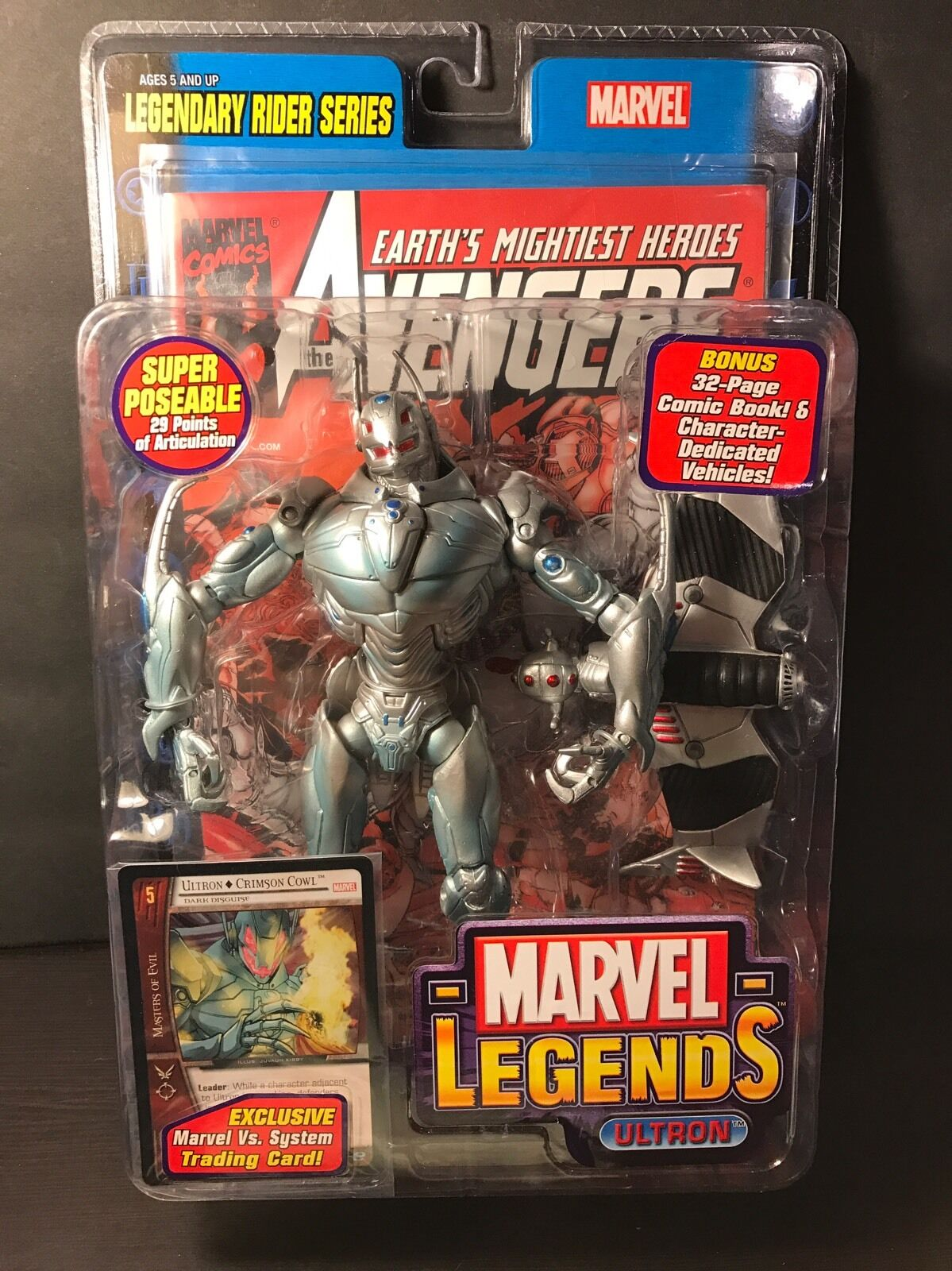 Marvel - legenden ultron avengers reiter - serie