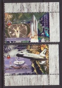 Stamps United Nagorno Karabakh Artsakh Armenia 2011 Set Of 2 Space Shuttle Usa Mnh R17739 Attractive Fashion