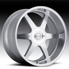 "20"" MRR MK1 STAGGERED WHEELS 5X120 SILVER RIM FITS BMW X5 X6"