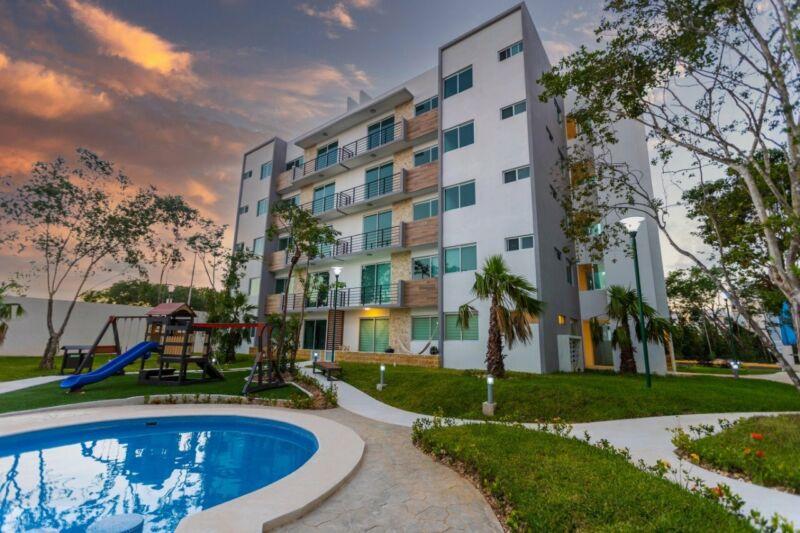 Departamento en Venta en Punta Estrella, en Playa del Carmen, Quintana Roo, 2 Recámaras
