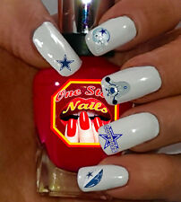 69pcs dallas cowboys nail art decals stickers transfers nfl dc001 dallas cowboys nail art waterslide nail decals set of dc001 69 prinsesfo Image collections