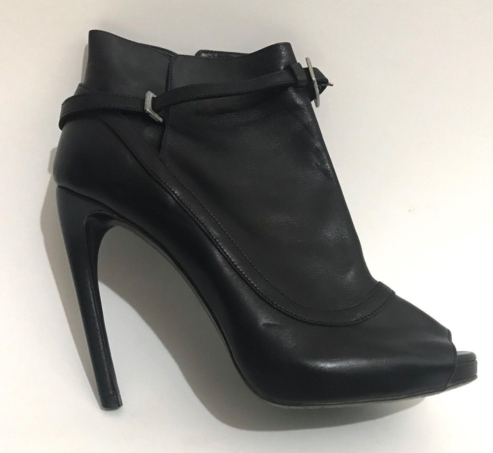 negozio di vendita outlet Roger Vivier Vivier Vivier Paris Stiletto scarpe Dimensione 6.5 nero Leather avvioies  - Retail  1150  preferenziale