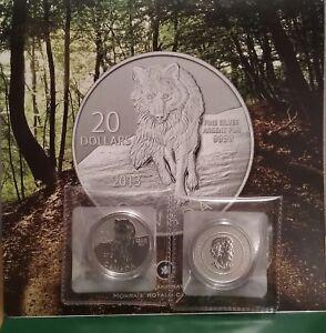 Pure-SILVER-WOLF-2013-20-Coin-Canada