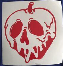 "Vinyl Decal Sticker. Car, Window, Wall... Snow White - Poison Apple (6"" x 5"")"
