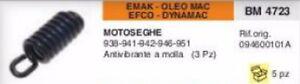 094600101a Antivibrante A Molla Motosega Emak Oleomac Efco Dynamac 938 941 942