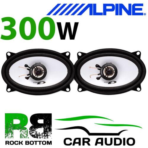 """ALPINE MG TF MK2 1995 On 4x6/"""" 2 Way 300 Watts Rear T Bar Pod Car Speakers Pair"""