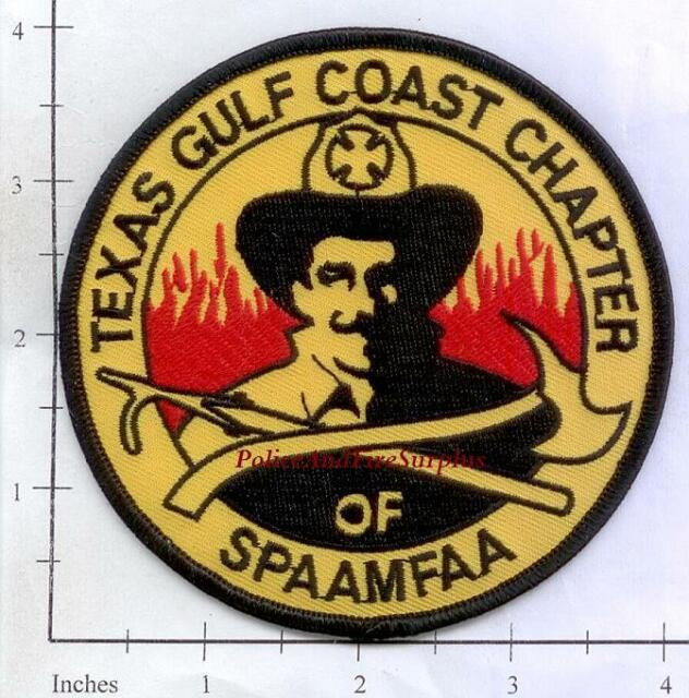 Texas Gulf Coast Chapter of SPAAMFAA Fire Patch Texas TX