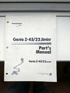 GENIE-SERVICE-Z-45-22-amp-Pieces-Manuel