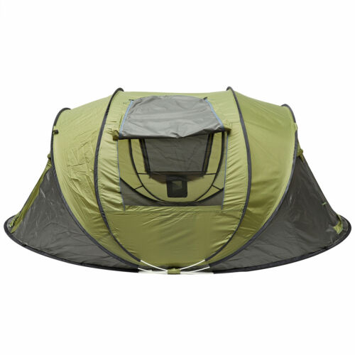 2-4 People Automatic Camping Tent Windproof Waterproof Pop Up Outdoor Sunshade