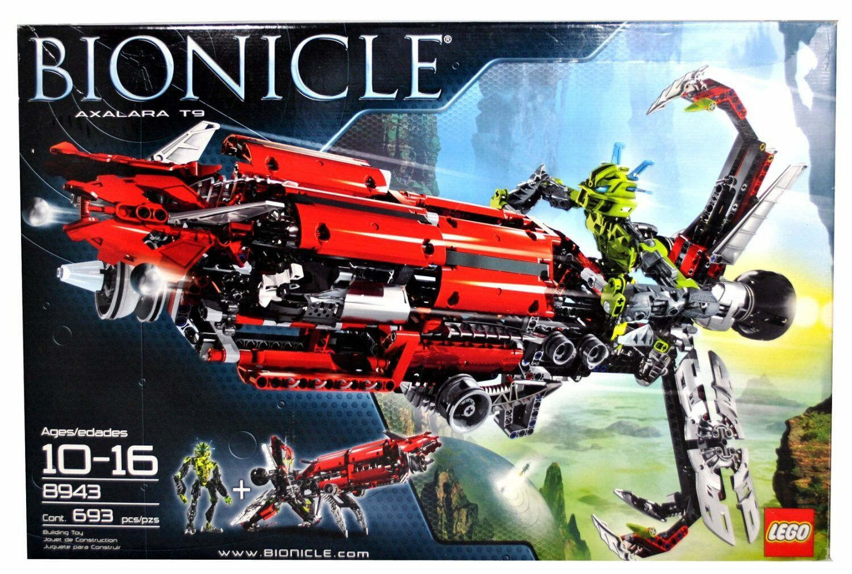 Lego Bionicle 8943 - Axalara T9 T9 T9  Midak Skyblaster incl. Lewa Nuva Neu OVP 2a12e3