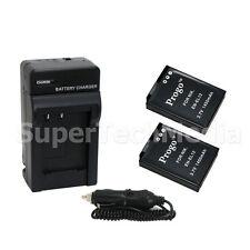 2 (Two) Battery & Charger Combo Kit for Nikon EN-EL12 Coolpix P300 P310 P330 S31