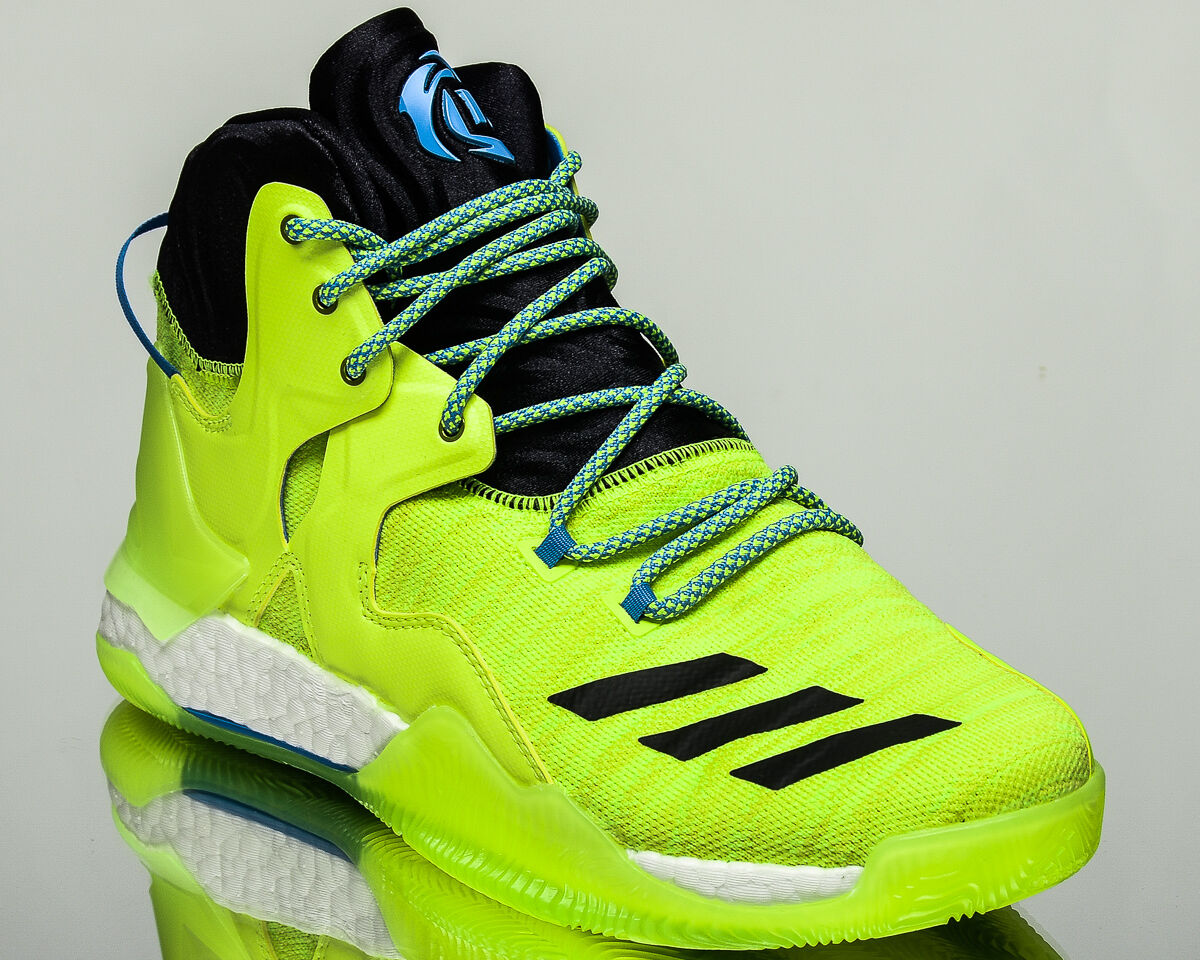 adidas D Rose 7 Primeknit  Bottes   VII drose homme  basketball  chaussures  NEW volt AQ7215