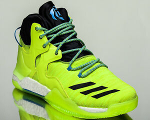 864a22124e7 adidas D Rose 7 Primeknit boost VII basketball shoes volt Last size ...