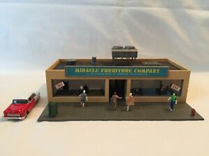 Tyco-HO-Scale-Miracle-Furniture-Company-Custom-Assembled