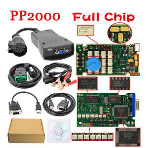 Full Chip Lexia3 PP2000 Diagbox V7.83 Diagnostic ODB2 Outil pour Citroen Peugeot
