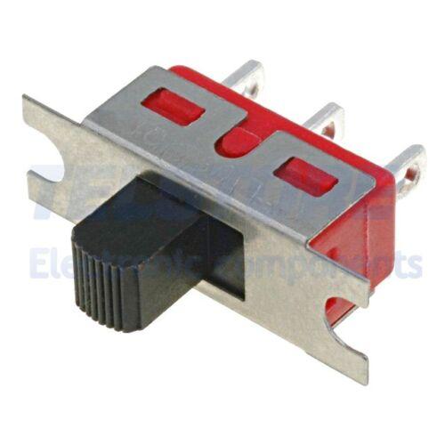 1pcs  Deviatore a slitta 2 posizioni SPDT 5A//120VAC 5A//28VDC TELSTORE
