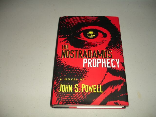 The Nostradamus Prophecy by John S. Powell SIGNED (Hardcover, 1998) Like New
