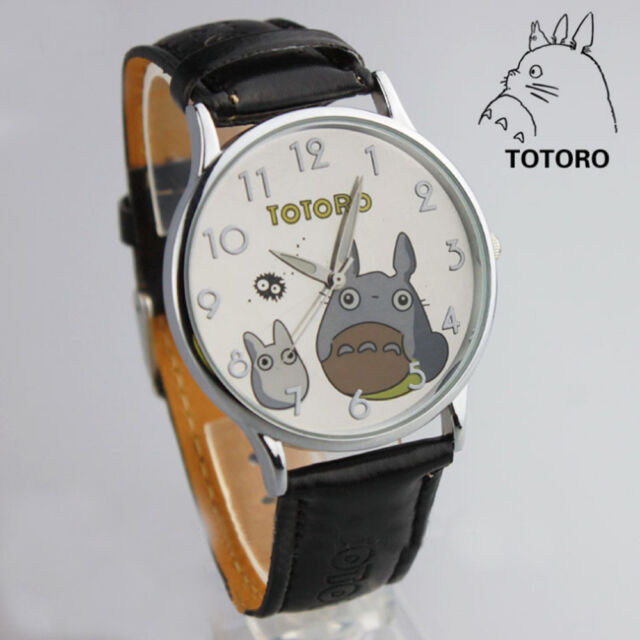Anime My Neighbor Totoro Wrist Watch Collections Toy Kids Xmas Birthday Gift B