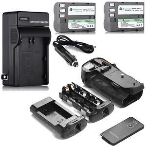 MB-D10-Battery-Grip-2x-EN-EL3E-Batteries-Charger-for-Nikon-D300-D300S-D700