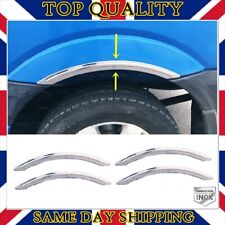 CHROME Wheel Arch Arches Guard Protector Moulding fits MG MGF MGTF