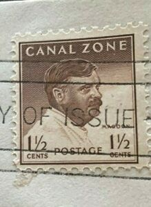 First-Day-Issue-Panama-Canal-Zone-Gov-Magoon-Historic-Stamp-Exceptional-Bargain