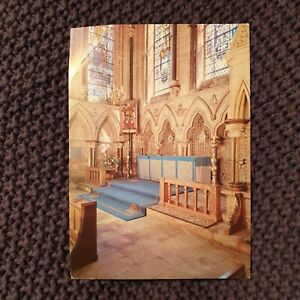 Lincoln-Cathedral-Chapel-of-St-Michael-Vintage-Postcard