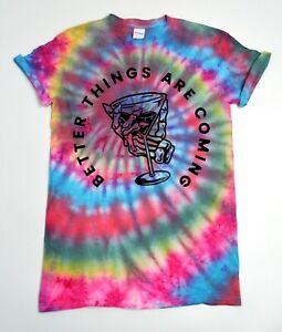 Better-Tie-Dye-T-Shirt-UNISEX-Festival-Grunge-Gift-Hipster-Summer-Trippy-Lit
