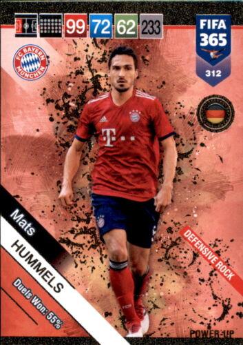 Mats Hummels Fifa 365 Cards 2019-312 Defensive Rock