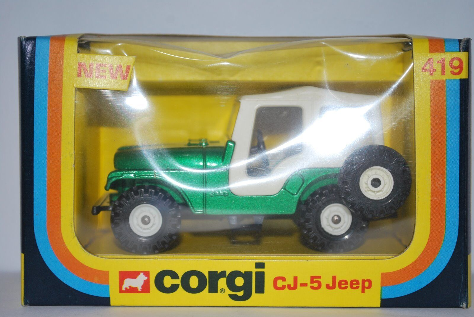 Vintage Corgi CJ-5 Jeep no 419