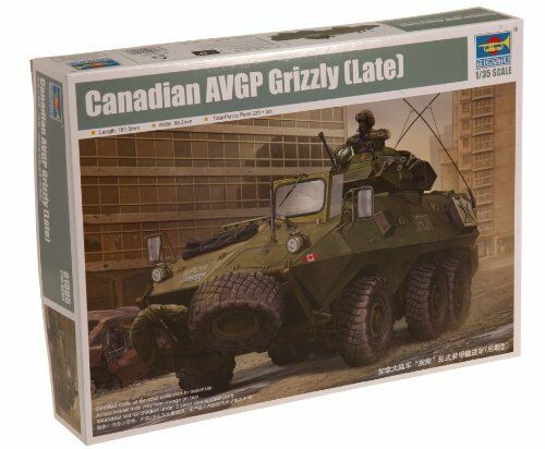 Canadian Grizzly 6x6 APC (Late ver.) Tank Plastic Kit 1 35 Model TRUMPETER