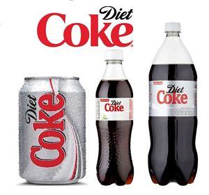 Diet Coke 330ml Can, 500ml Bottles, 1.5L & 2L Bottles *Best Price ...
