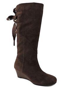 5746ca5c92cf Nine West Women's Truella Knee High Boots Dark Brown Size 6 M ...