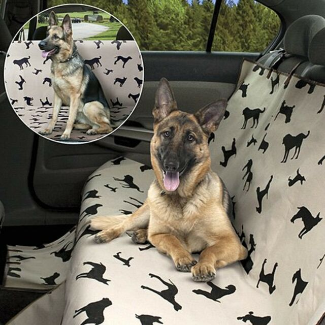 Admirable Pet Dog Waterproof Back Seat Plush Cover Rear Soft Protector Car Suv Travel Onthecornerstone Fun Painted Chair Ideas Images Onthecornerstoneorg