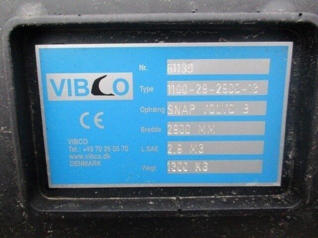 Andet, Vibco skovl på 2.9m3 med Volvo skifte