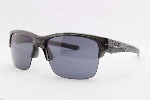 1822ff2f34a36 Image is loading Oakley-Thinlink-Sunglasses-OO9316-01-Grey-Smoke-Frame-