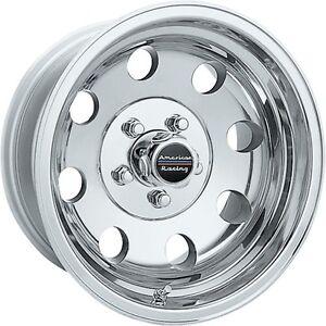 1 17 Inch Wheels Rims Polished American Racing Baja Ar1727883 Ar172