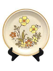 2 Hearthside Garden Festival Stoneware Dinner Plates SUNSHINE FLOWERS Japan
