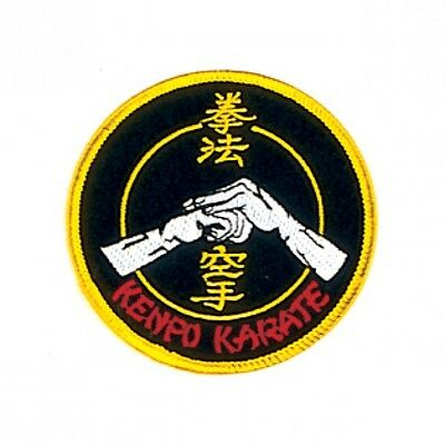 "8/"" /& 10/"" Kenpo Karate Martial Arts Patch 3 Sizes 4/"""