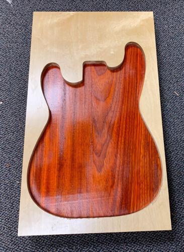 Beautiful Electric Guitar Body Blank PADAUK FREE SHIPPING! 2 Piece Glued